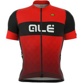 Alé Cycling R-EV1 Rumbles Kortärmad cykeltröja Herr röd/svart